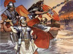 Angus mcbride art. roman Invasion of Britain 1st century AD