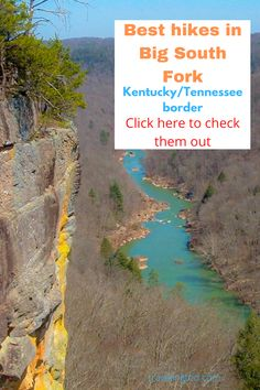 Best hikes in the Big South Fork National River and Recreation Area along the Tennessee and Kentucky border. Forked River, South Fork, Best Hikes, Day Hike, Adventure Travel, Kentucky, Tennessee, Hiking, Big