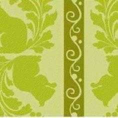 Jules Davis - Garden of Delights - Squirrely Stripe in Olive