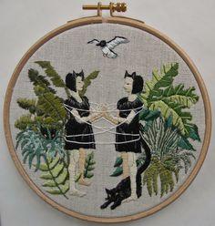 Michelle Kingdom | Embroidery Artist | Los Angeles, California