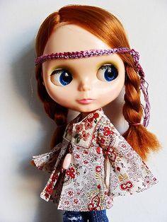 hippie dolls | blythe hippie doll