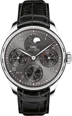 La Cote des Montres : La montre IWC Portugieser Calendrier Perpétuel - La nouvelle force d'attraction de la lune
