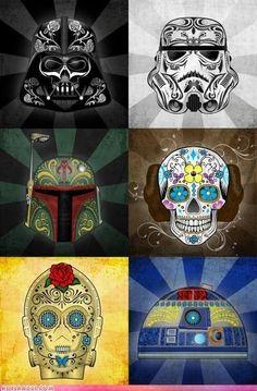 Sugar Skull Star Wars