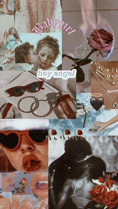Rebel angel collage made by - rosa Angel Aesthetic, Aesthetic Collage, Red Aesthetic, Aesthetic Pictures, Homescreen Wallpaper, Wallpaper App, Tumblr Wallpaper, Wallpaper Backgrounds, Collage Drawing