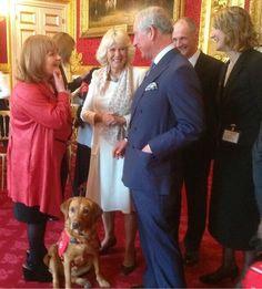 Mrs Patmore meeting Prince Charles