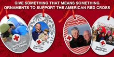 Kicking off on #GivingTuesday, Cafe Press is offering to customize holiday ornaments to benefit the American Red Cross. Customers can add their photo to a variety of Red Cross templates for $15 with $6.50 going to Red Cross Disaster Relief.