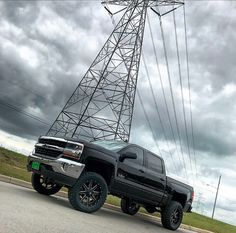 """How about this Power-House 2017 Silverado 6.5"""" Zone Offroad Products lift kit 20"""" Fuel Offroad Maverick wheels 35"""" Toyo Tires RT"""