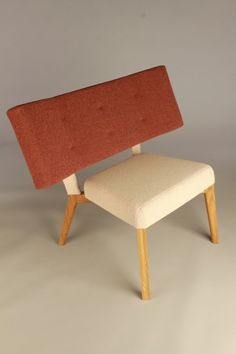Jack Storey | Upholstered Chair -- Looks like something my father would have made after a few Scotches.