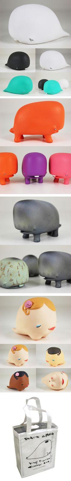 David Choe Munko figures. I want them all!
