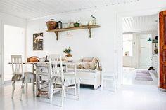 Una casita de ensueño en Suecia, ¡no os la perdáis!