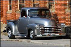 Very nice 1954 Chevy truck. 53 Chevy Truck, Classic Chevy Trucks, Chevrolet Trucks, Gmc Trucks, Pickup Trucks, Classic Cars, Lifted Trucks, Chevrolet Cruze, 1957 Chevrolet