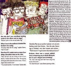 Mi primer compilado de facts está dedicado a Graham Coxon. He intenta… No Ficción Focus Band, Graham Coxon, You Really Got Me, Damon Albarn, Out Of Focus, Britpop, Gorillaz, Blur, Rock N Roll
