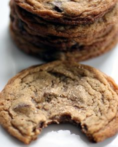 Peanut Butter Cookies with Chocolate Chunks    You can't resist taking a bite of these chewy cookies.