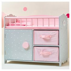 Diy Baby Doll Bed And Changing Station For My Kids