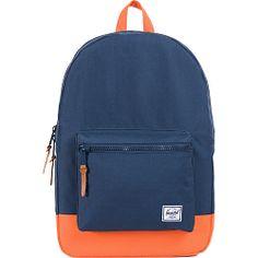 #Backpacks, #HerschelSupplyCo, #LaptopBackpacks - Herschel Supply Co. Settlement Navy / Mandarin - Herschel Supply Co. Laptop Backpacks