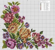 Cross Stitch Bird, Cross Stitch Borders, Cross Stitch Animals, Cross Stitch Flowers, Cross Stitch Charts, Cross Stitch Designs, Cross Stitch Patterns, Embroidery Tattoo, Cross Stitch Embroidery