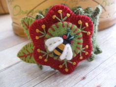 Bright and Buzzy Crochet Cuff. $22.00, via Etsy.
