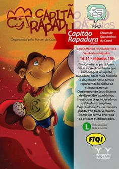 Siiiiim, estaremos lançando o álbum Capitão Rapadura 40 Anos no @fiq_bh!