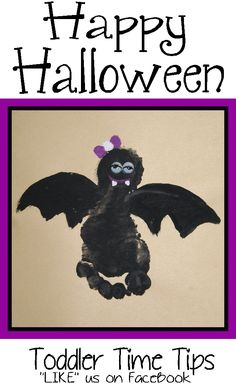 Daily projects and activities posted! Halloween Bebes, Adornos Halloween, Manualidades Halloween, Theme Halloween, Halloween Disfraces, Halloween Diy, Infant Halloween, Happy Halloween, Halloween Arts And Crafts