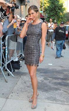 Jennifer Aniston, Shirt Dress, T Shirt, Casual, Dresses, Fashion, Supreme T Shirt, Vestidos, Moda