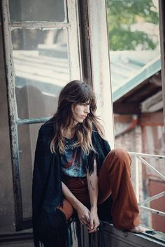 Lou Doillon pose for L'Express Styles Magazine Fall 2015 Photoshoot