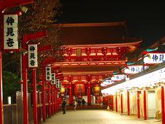 Approach to Senso-ji,Asakusa