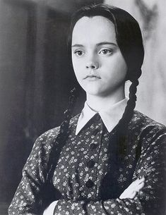 This is your bitchy resting face. | 17 Signs That You Are Wednesday Addams.