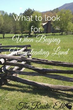 Land is generally an ultimate goal for any homesteader. There are lots of things to take into consideration before you purchase land, though, to insure you get the right land for you and your needs. Here are 15 questions to ask to find that perfect homestead property!