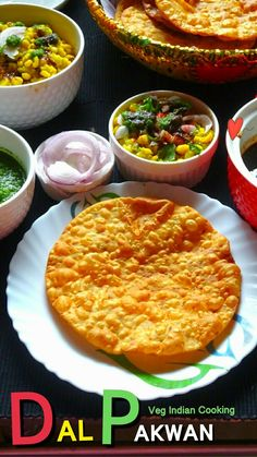 Sindhi Dal Pakwan Recipe