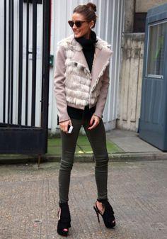 Olivia Palermo. Love her style. Rachel Zoe, Love Fashion, Fashion Beauty, Womens Fashion, Nail Fashion, Fashion 2014, Beauty Style, Fashion Clothes, Fashion Photo