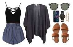 """""""Love isn't easy"""" by i-m-penguin-purple974 ❤ liked on Polyvore featuring STELLA McCARTNEY, Boohoo, Kinross, Aéropostale, Casetify, Daniel Wellington, FOSSIL, Ray-Ban, StellaMcCartney and rayban"""