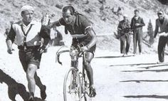 Gino Bartali a Star Athlete winning the Tour de France before and after WW11 But It wasn't until after his death that his family discovered he had been a member of the Italian Resistance movement during WWII, and was instrumental in helping Italian Jews escape to safety from German occupied Italy.    He used his fame as a racer to act as a courier    On his training rides, he would smuggle forged documents, hidden on his bike, to and from various convents where the Jewish fugitives were…