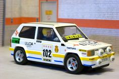 Scalextric Altaya CS-2. Seat Panda 45. Rally Shalymar 1981. Carlos Sainz-Juanjo Lacalle. #slotcar