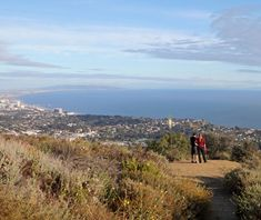 Coolest Hikes in Los Angeles: Temescal Canyon Loop Trail  Temescal Canyon Loop Trail The Santa Monica Mountains meet the ocean at this trail in lush Temescal Gateway Park. Hike through an oak- and sycamore-shaded canyon—complete with footbridges over a gurgling creek and a seasonal waterfall—to get to the jaw-dropping ocean views from the ridge at the trail's peak.