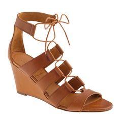 Caryn gladiator wedges - sandals - Women's shoes - J.Crew #JCREW #myshoestory