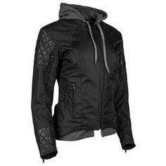 At first glance you may only notice the wicked cool post-punk styling, but the protection and weather versatility packed into the Speed and Strength Double T...