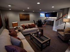 Great basement layout
