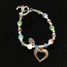 "Mothers crystal beaded bracelet In sterling silver ""Mothers"" crystal beaded bracelet Jewelry Bracelets"
