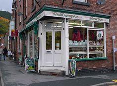 Charming Wooden Spoon Shop in Llangollen, Wales https://www.google.com/search?q=llangollen wales
