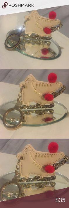Kate spade ♠️ glitter a roller skates key holder Kate Spade ♠️ Glitter Roller skates Key 🔑 holder kate spade Accessories Key & Card Holders