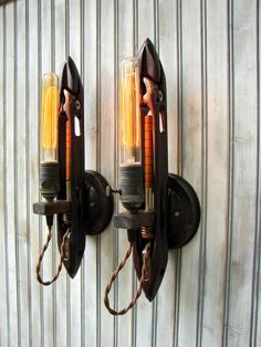 Lighting  Wall Sconces  Industrial Lighting  by BenclifDesigns