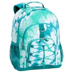 Gear-Up Ceramic Pool Tie-Dye Backpack #PBteen