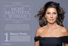 Country Weekly's Readers Name Shania Twain Most Beautiful Woman