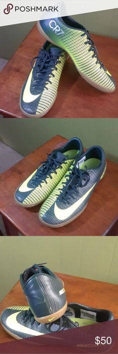 c5849e1b454e4 NIKE MERCURIAL VAPOR CR7 SHOES SOCCER 7.5 SZ Almost new used one time on  one indoor