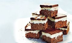 Sarah Wilson's I Quit Sugar for Life: Choc mint slice ❤️❤️