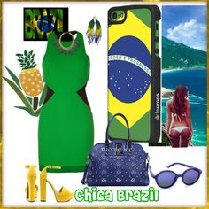 """Chica Brazil"" by latinaconestilo on Polyvore#latinaconestilo Si te gusto pin it!"