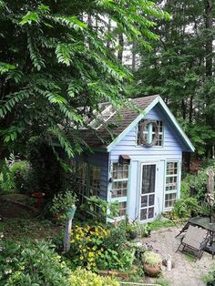 9 Perfectly Charming Garden Sheds