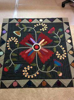 Wool project from a Kim Diehl pattern