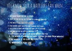 Made by WarriorCatsUltimateFanPage This happens to me every day. I think about all of that XD I was just listening to legacy--- by eminem and it kind of reminded me of fire heart. Cx KEEP CALM AND LOVE WARRIORS