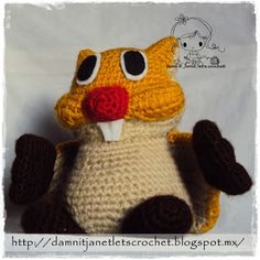 damn it Janet, let's crochet!: Waddlewing from Super Mario Bros. Crochet Crafts, Crochet Toys, Crochet Projects, Free Crochet, Crochet Ideas, Mario Crochet, New Super Mario Bros, Crochet Patterns Amigurumi, Crochet Stitches